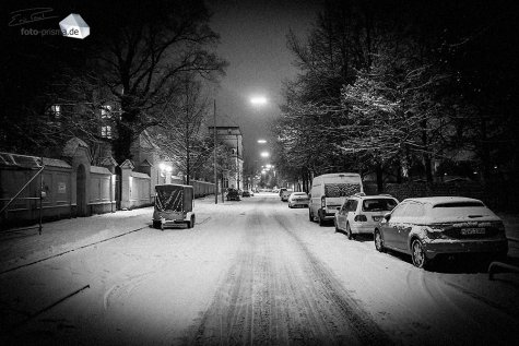 Silent Empty Winter Night - St.-Martin-Straße (Foto: Eric Paul)