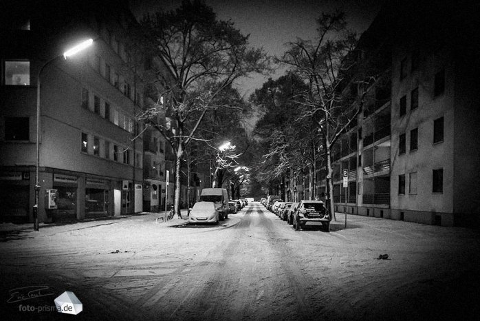 Silent Empty Winter Night - Schlierseestraße (Foto: Eric Paul)